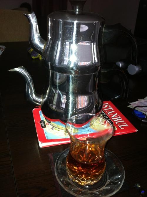 First tea