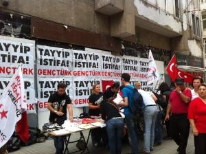 Ideas market on Istiklal Street