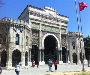University of Istanbul gates (formerly Ministry of War)